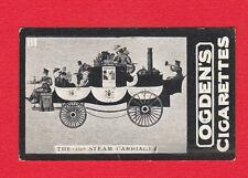 TRANSPORT  -  OGDENS  -  RARE  COACH  CARD  -  1828  STEAM  CARRIAGE  -  1902
