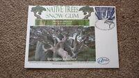 2005 AUSTRALIAN ALPHA STAMP ISSUE FDC, NATIVE TREES SNOW GUM
