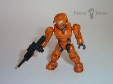 Halo Mega Bloks Set #96869 UNSC Orange Spartan II with Battle Rifle Figure