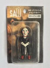 Rare Japanese SAW movie PHONE JACK COVER FIGURE Jigsaw horror movie Japan iphone
