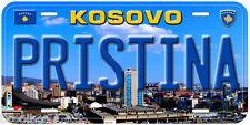 Pristina City Kosovo Novelty Car License Plate P01