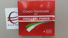 2 euro Italia 2020 BE PP Fs Proof Corpo Vigili Fuoco Italie Italy Italien Италия