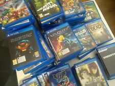 VITA GAME COLLECTION (OVER 100 GAMES, PRICES REDUCED!!!)
