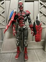 "Marvel Legends Toybiz Classics CYBER SPIDER-MAN 6"" Inch Action Figure"