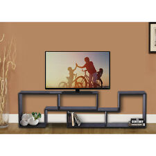 DEVAISE Home Furnishings Contemporary Bookcase / TV Stand in Black