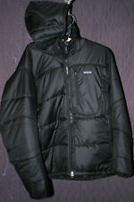 Patagonia black puff belay climbing winter DAS jacket parka coat mens medium M