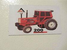 ALLIS CHALMERS 200 (WITH CAB) Fridge/tool box magnet