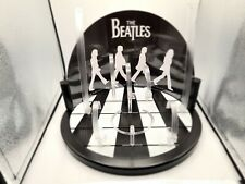 More details for rare beatles apple corp commemorative multi watch display stand abbey road 33cm