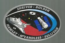 Nasa Shuttle Discovery STS-31 Ras Patch Autocollant Autocollant 12.7cm