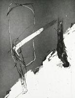 DDR-Kunst 1983. Aquatinta Gregor-Torsten KOZIK (T. SCHADE *1948 D), handsigniert