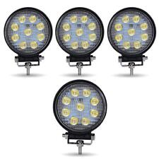 4x 4inch 108W Flood Pod LED Work Light Driving Fog Lamp Round Offroad Jeep Truck