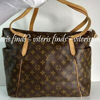 Authentic Louis Vuitton Totally MM Monogram Canvas Shoulder Tote Bag
