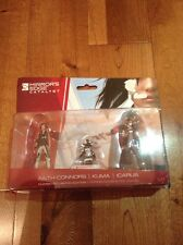 Mirrors Edge Catalyst 3 Figure Pack Faith Connors, Kuma, Icarus New Rare
