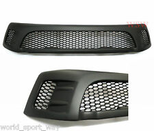FIT TOYOTA HILUX 2015 2016 16 17 PICKUP TRUCK MATTE BLACK FRONT GRILL GRILLE TRD