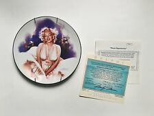 8 Magic of Marilyn and 2 Marilyn Collection Plates by Delphi