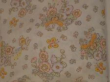 Vintage Cabbage Patch Kids Twin Fitted Sheet Quilting Fabric Material No-Iron