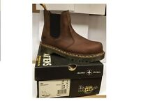 Dr Martens Gaucho Steel Toe Capped Work Boots Brown UK size 5