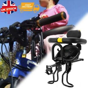 Portable Bike Bicycle Child Seat Saddle Children Kids Baby Carrier Front UK