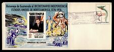 New listing Dr Who 1976 Guatemala Fdc Us Bicentennial Space John F Kennedy Jfk S/S 195031