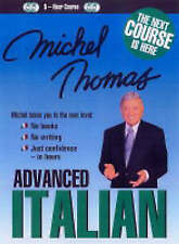 Michel Thomas Advanced Italian (CD), Thomas, Michel, Good Used  Book