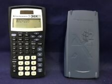 Texas Instruments Ti-30X Iis 2-Line Scientific Calculator, Black with Blue A1