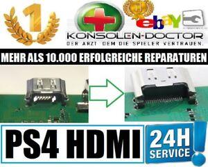 PS4 Slim PRO Playstation 4 HDMI Port Stecker Buchse defekt Reparatur + Reinigung