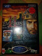 Jeu pc Age of Empires 2 big box complet