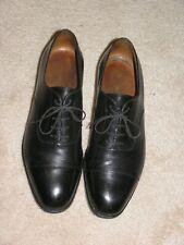 JM J.M Weston Black Leather Cap Toe Oxford Dress Shoes Size 8.5 US 7.5 UK