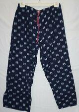 Tommy Hilfiger Women's Cotton Bottoms Pajama Pant Logo Blue Medium