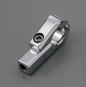 Circa 7//8 Yosoo Health Gear Morsetto per Moto da Manubrio Adatto per Manubrio da 22 mm Montante per Moto da Manubrio Argentato con Viti