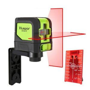 Level Laser 2 Lines Auto-Levelling (4 Degree) Beam Green Red
