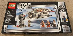 LEGO Star Wars - Snowspeeder – 20th Anniversary Edition 75259 - New & Sealed