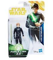 """Star Wars A Solo Story 3.75"""" Force Link 2.0 Luke Skywalker Action Figure Hasbro"""