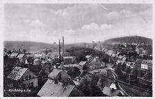 AK Kirchberg i. Sa. Ortsansicht Postkarte gel. 1942
