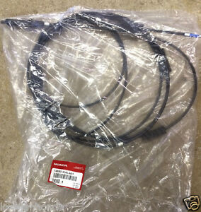 Genuine OEM Honda Civic 2dr Coupe Trunk / Gas Door Release Cable 2006-2011 Fuel