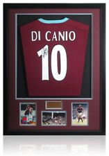 Paolo Di Canio Hand Signed West Ham United Official Shirt AFTAL COA