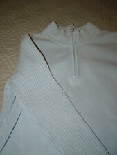 ST JOHNS BAY BABY BLUE PULLOVER SWEATER SZ XL