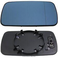 Vetro Specchio BMW e46 e39 destra sinistra specchietti asphärisch BLU riscalda