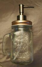 Mason Jar Soap Dispenser Rustic Vintage Inspired Farmhouse-Worldwide Shipping!