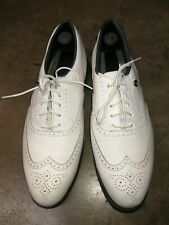 Men's ETONICS Lites WingTips Golf shoe SZ 10.5 US Leather all man made materials