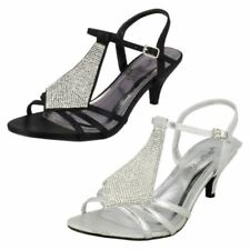 Anne Michelle Kitten Heel Synthetic Strappy, Ankle Straps Heels for Women