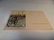 vecchia cartina Cartolina Fichtel & Sachs 98 ccm 98 no. 9