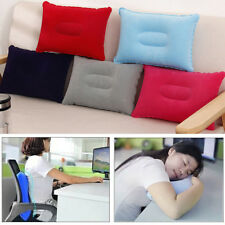 Mini Inflatable Air Pillow Portable Bed Cushion Travel Hiking Camping Rest