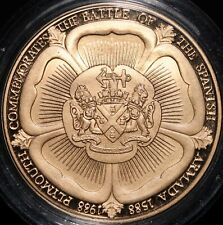 More details for 1998   plymouth commemorates the spanish armada medal   medals   km coins