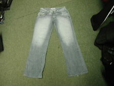 """Bench Loose Fit Jeans Waist 30"""" Leg 31"""" Faded Dark Blue Ladies Jeans"""