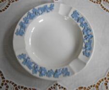 Vintage Wedgwood Etruria & Barlaston England White w/ Blue Grapes & Leaves & Flo