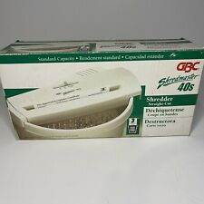 Gb Shredmaster 40s Portable Adjustable Home Office Paper Document Shredder