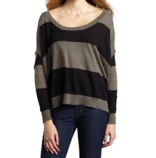 NEW BCBGeneration GALAXY COMBO KNITTED BLOUSE LONG SLEEVE GAT1K578 TOP SIZE XS/S