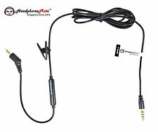 HeadphoneMate Inline Remote Mic Cable for Bose QC 3 & iPhone, iPad and iPod