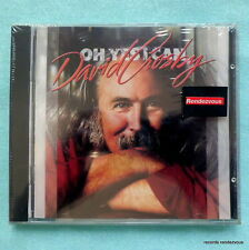 David Crosby Oh Yes I Can 1989 West German CD NEW Stills Nash & Young Joe Vitale